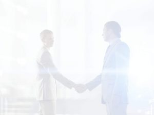 ContactPage business men shaking hands