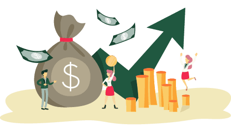 Industry Illustration Financial Services