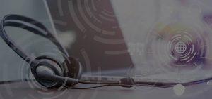 HostedVOIPSolutions Hero headphones on desk