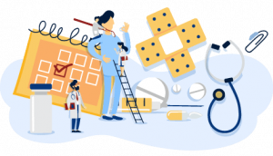 Industry Illustration Healthcare