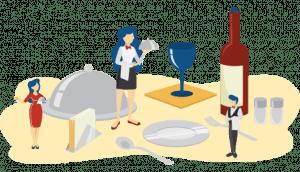 Industry Illustration Hospitality