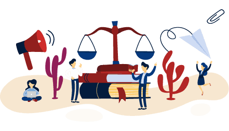 Industry Illustration Law Firms