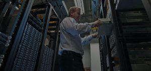 NetworkInstallation Hero server room support