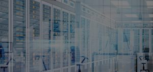 ServerVirtualization Hero abstract server room